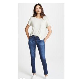 AG Prima Cigarette Leg Denim Jeans size 25